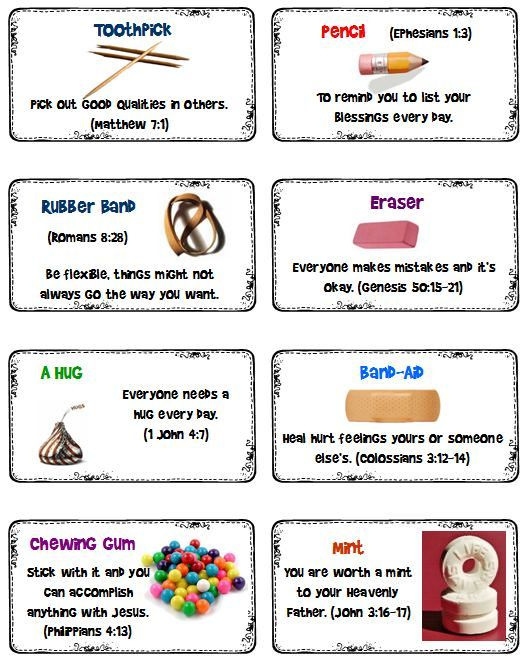 Back to School Survival Kit - Scripture