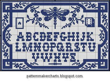 Free Easy Cross, Pattern Maker, PCStitch Charts + Free Historic Old Pattern Books: Sajou No 103