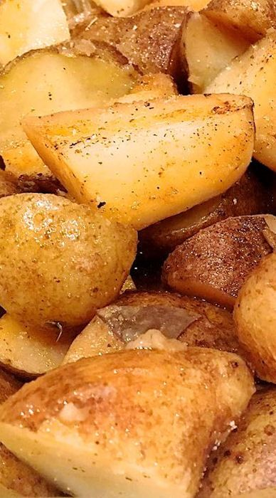 instant pot roasted potatoes and potatoes on pinterest