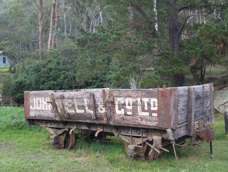 Preserved Steam Locomotives Down Under - Wolgan Shay