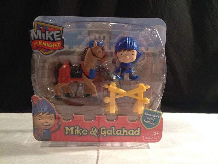 BNIB Fisher-Price Nickelodeon's Mike The Knight: Mike and Galahad Buddy Pack #FisherPrice