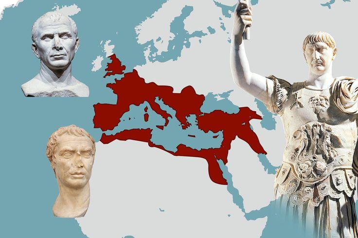 Rooman valtakunta oli suurimmillaan valtava – mutta kuinka suuri se oikeastaan oli?