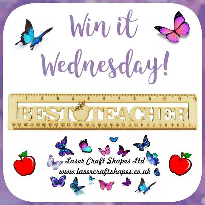 It's WIN IT WEDNESDAY time! For a chance to win this fantastic teacher ruler in our flash giveaway simply   LIKE this post  Comment WIN  SHARING is caring but not a condition of entry  Please be a liker of our page again this isn't compulsory but how will you know if you've won!    Terms and conditions apply  Giveaway will close on Thursday 27th April 11.00am and a winner will be chosen at random  Postage is covered for UK addresses only. If you win and are outside of the UK additional…
