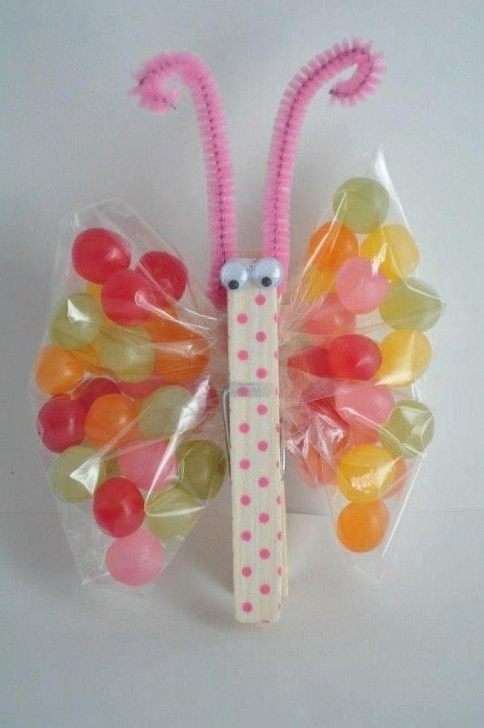 Leuke vlinder voor een traktatie maar ook met een gezonde vulling is dit leuk....