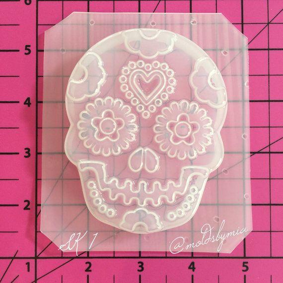 Sugar Skull Resin Mold