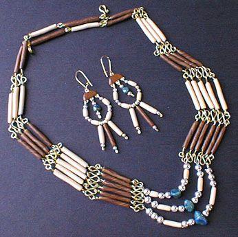 Collier Indien - création Clo