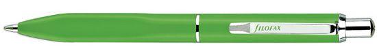 Filofax Calipso Push Button Green Ballpoint Pen