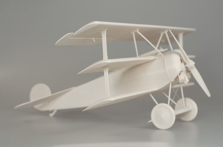Fotka v albu Fokker Dr.1 - model Cinema 4D, Printer Prusa i3 MK2, Material PLA, Wingspan 500 mm - Fotky Google
