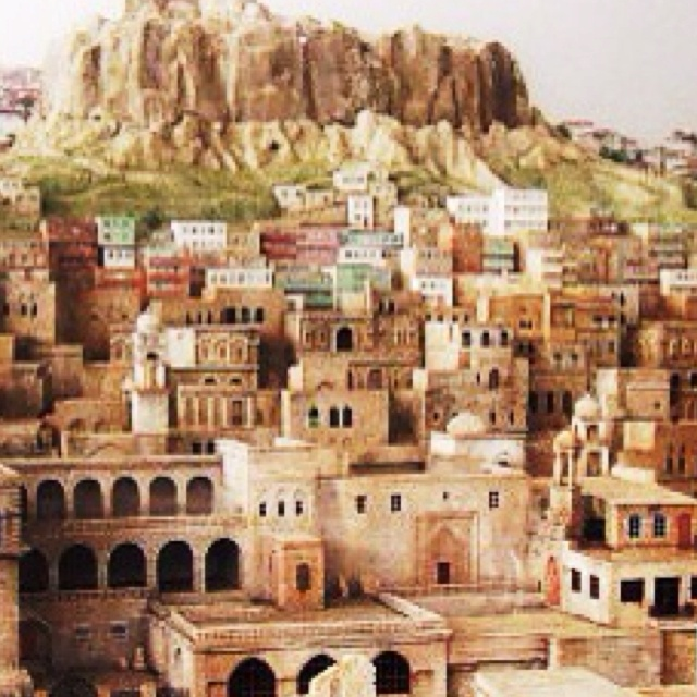 Amazing Mardin...Mardin is one of the oldest settled areas in upper Mesopotamia. Excavations done in the 1920s discovered remains in the area that dated to 4000 BCE. The first known civilization were the Subarians who were then succeeded in 3000BCE by the Hurrians. The Elamites gained control around 2230 BCE. and were followed by the Babylonians, Hittites, Assyrians, Romans and Byzantines.