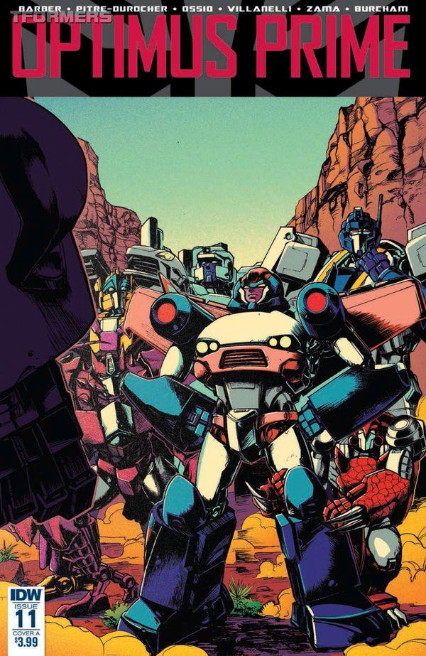 Primeless, Part 1 - Optimus Prime Issue #11 Comic Review