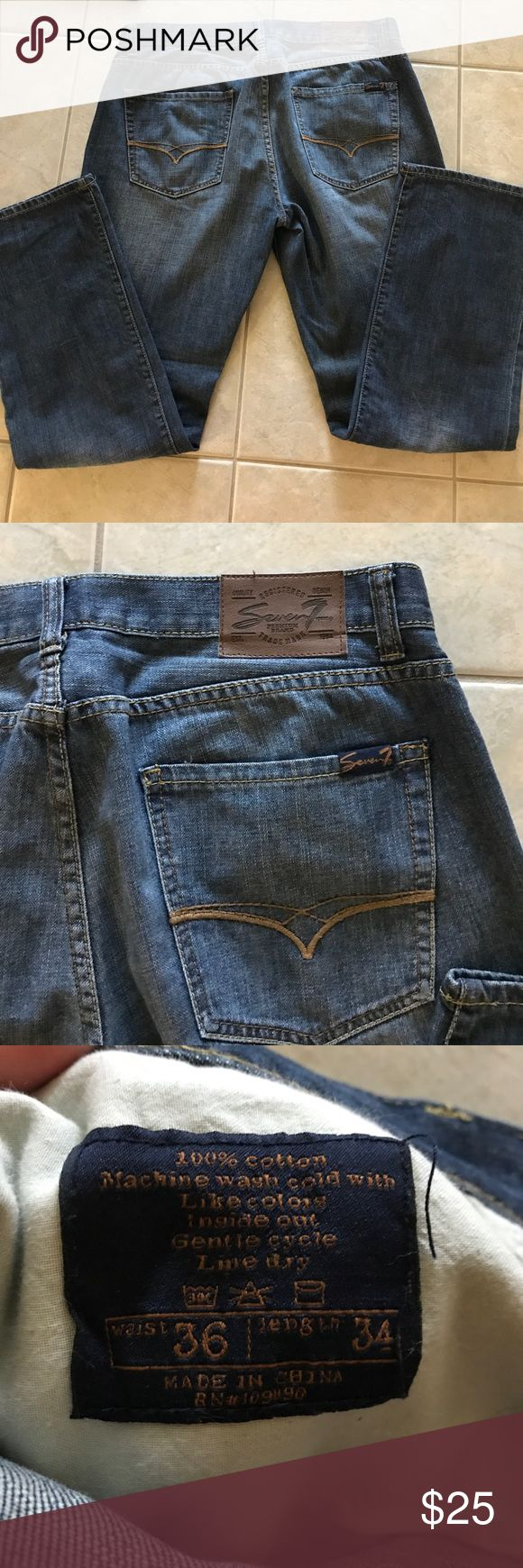 Seven 7 straight cut jeans Seven 7 straight cut jeans. Seven7 Jeans Straight