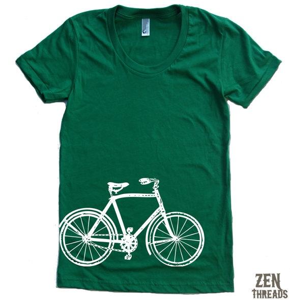 Womens vintage bike t-shirt, $17