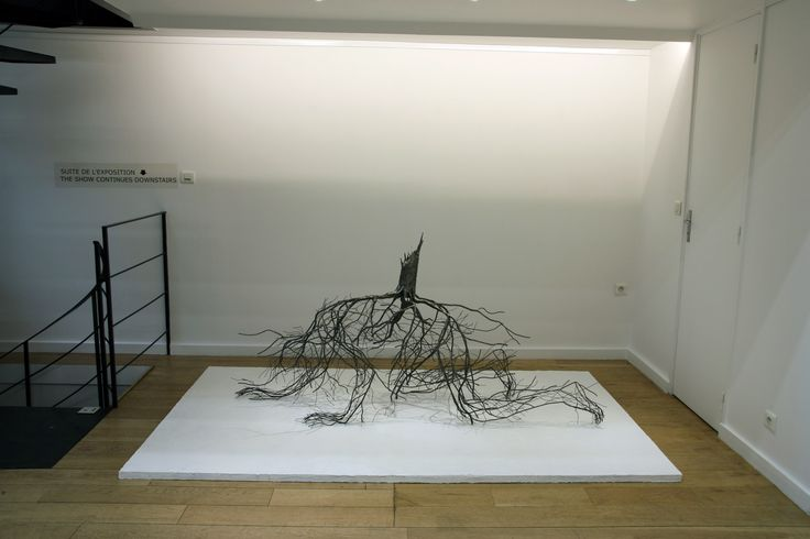 """Sun-Hyuk Kim, sculpture """"Naked Portrait 4"""", 2014 94,5 x 240 x 150 cm. View of the exhibition """"Return to our roots"""". Courtesy of the artist & ONEIRO gallery"""