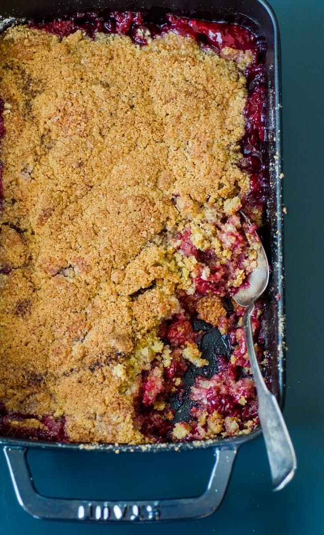 Recipe: Tart Cherry Crumble — Recipes from The Kitchn | The Kitchn
