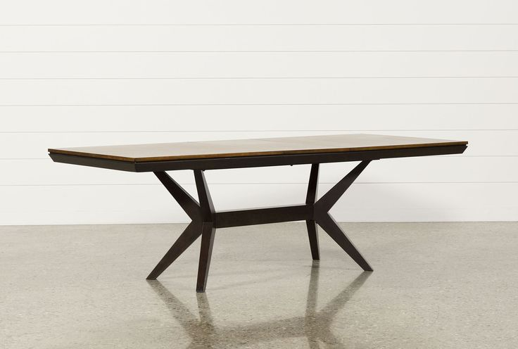 Living Spaces - Spencer Extension Rectangle Dining Table- 85388 - Signature