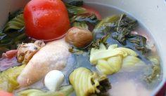 Itek Tim (Salted Vegetable Duck Soup)
