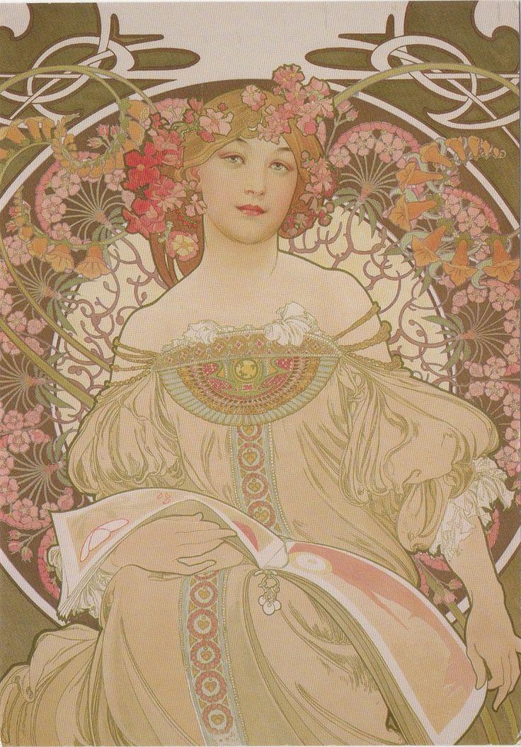 DE-6541257 - Arrived: 2017.09.25   --- Alphonse Mucha - Reverie (1897)