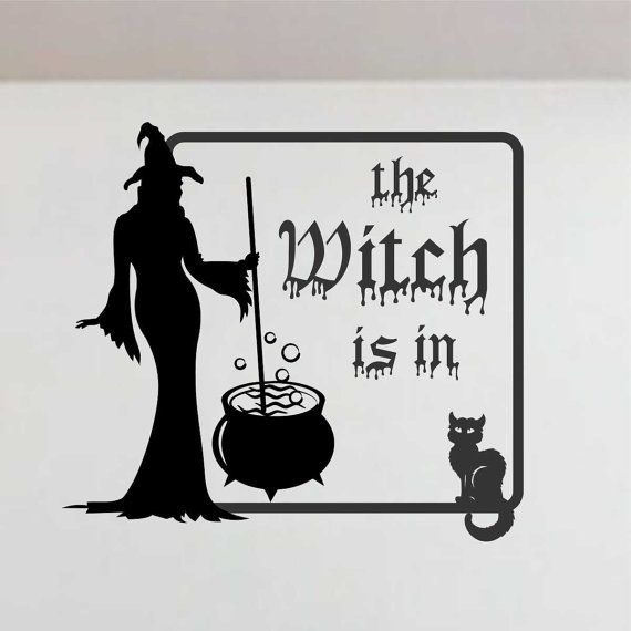 17 best images about etsy shop halloween decor on for Best brand of paint for kitchen cabinets with wicked stickers