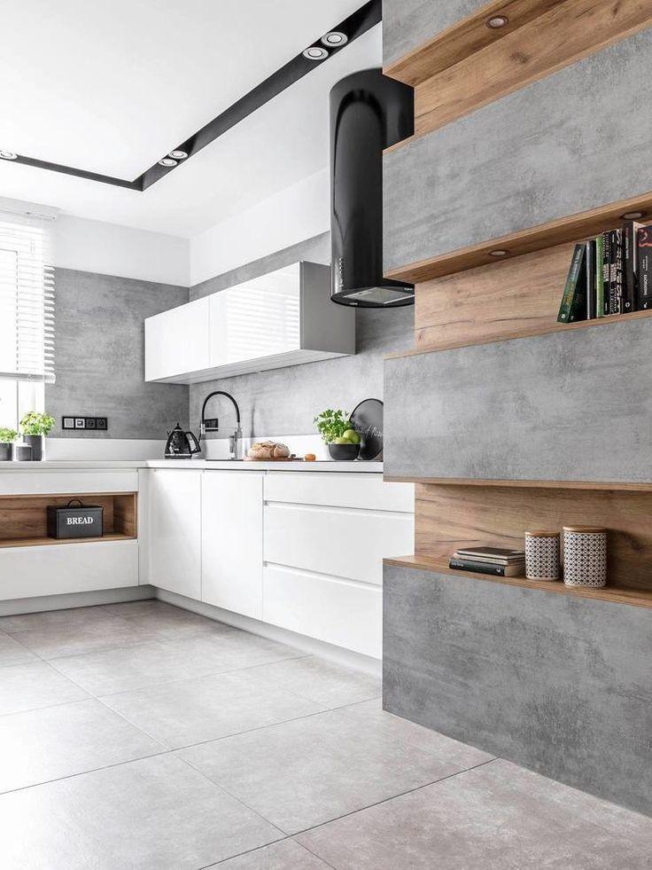 это кухни под бетон фото духовке румяную утку