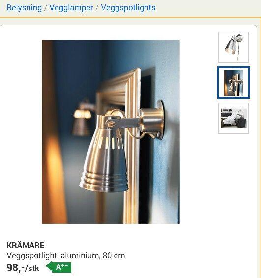 Vegglampe Ikea