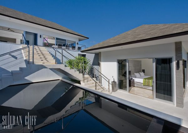 Luxury Bali Villa - The Lush Green Bedroom Suite with Oceanview