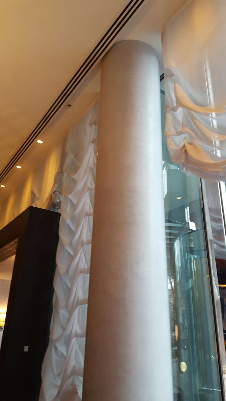 Photo 2: Inside we can see in every corner beautiful white marble pillars it gives the Royal effect to the restaurant .