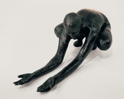 kiki smith - have you ever longed for something till you ached with wanting?  Have you ever lost something you would do anything to get back? Consider how an exaggerated gesture can describe a complex emotion in a simplified manner.