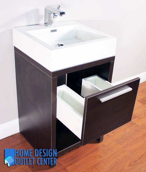 This Unique Modern Design Bathroom Vanity Will Give Your Bathroom A Trendy And Totally Up To Date Appearan Modern Bathroom Design Acrylic Sinks Bathroom Design