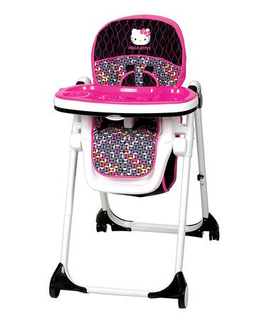 Another great find on #zulily! Hello Kitty Mylift High Chair #zulilyfinds