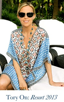 Tory Burch's inspiring style! the southampton goes with ANY cover-up!  Www.facebook.com/fibicloalexisray