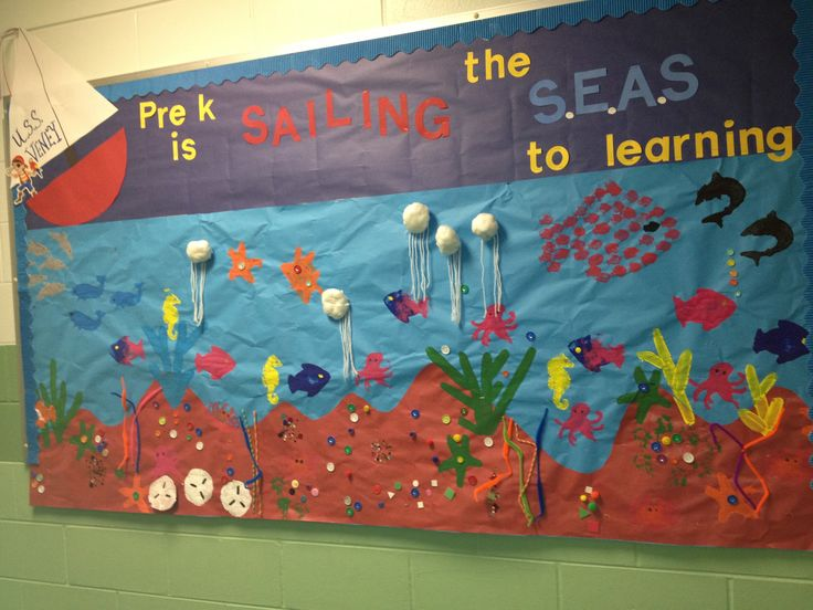 Ocean bulletin board,S.E.A.S.(Successfully Educating All Students)