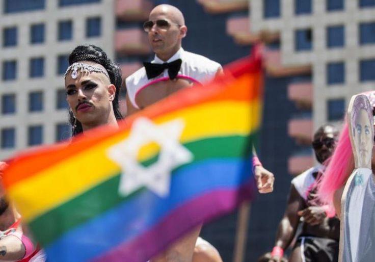Tel Aviv Pride Parade 2017 via jpost.com #Pride #LGBT #TelAviv