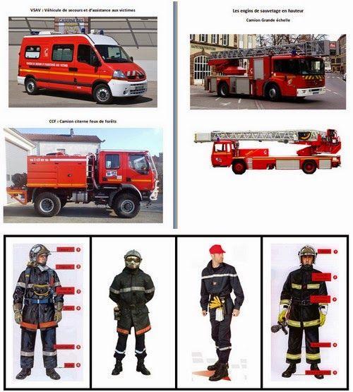 Le Journal de Chrys: Les pompiers en maternelle