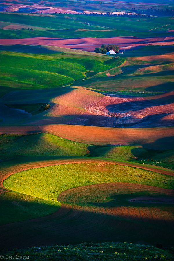 Palouse, Washington (by Ben Marar)