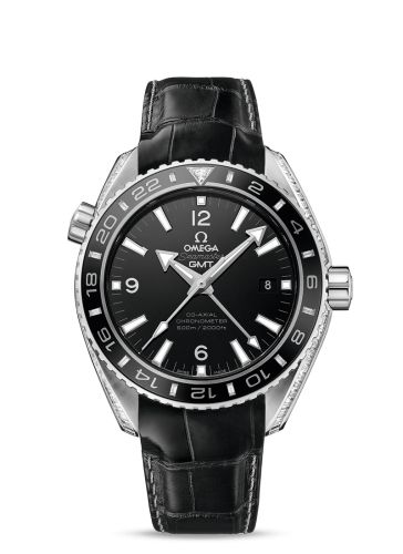 232.98.44.22.01.001 : Omega Seamaster Planet Ocean 600M Co-Axial GMT Platinum