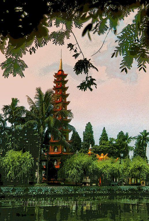Hanoi Pagoda, Vietnam.