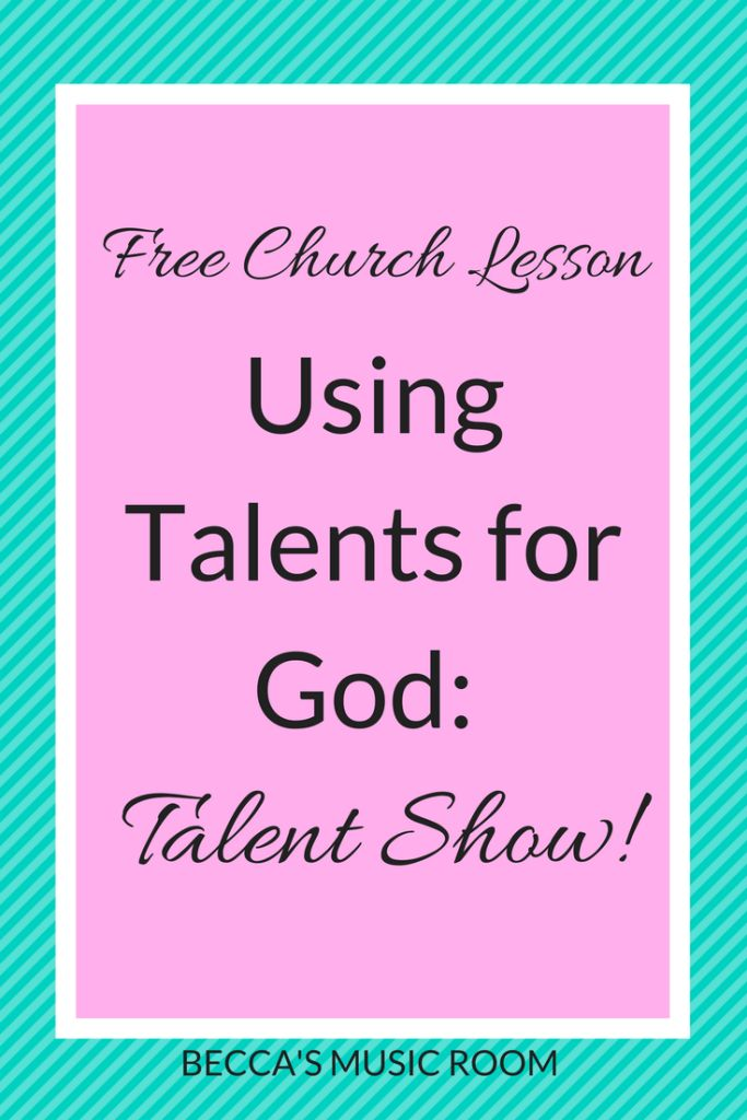 80 best letter w images on pinterest day care visual arts and free church lesson using talents for god talent show the perfect way to end a series in childrens church youth group or sunday school about using our fandeluxe Images
