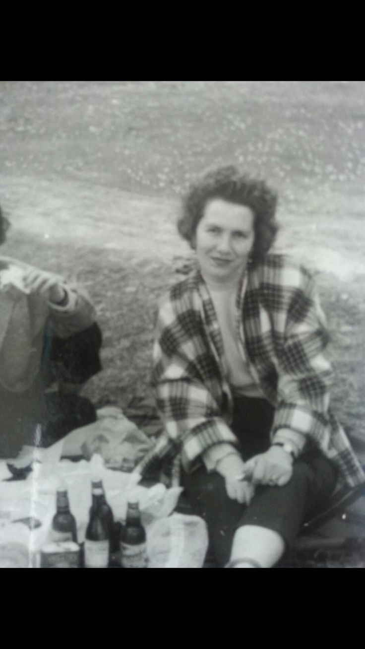 La mia nonna in gita negli anni 60