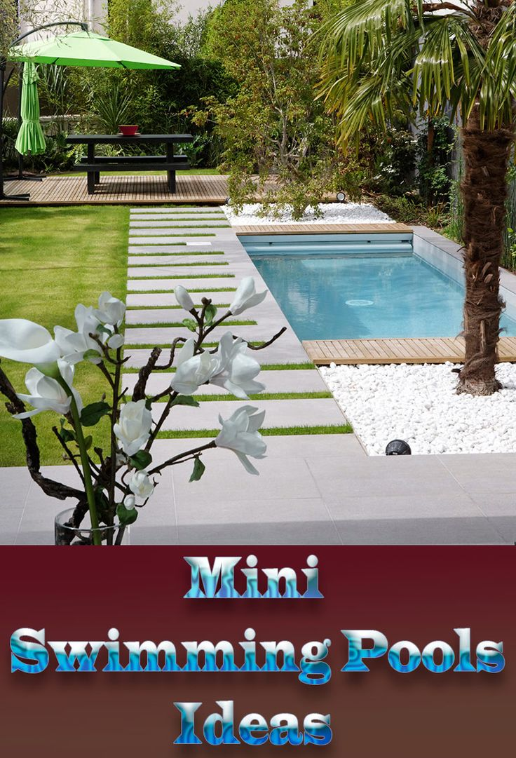 25 best ideas about mini pool on pinterest small pools. Black Bedroom Furniture Sets. Home Design Ideas