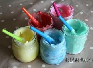 Jedlá prstová barva pro děti za pár korun