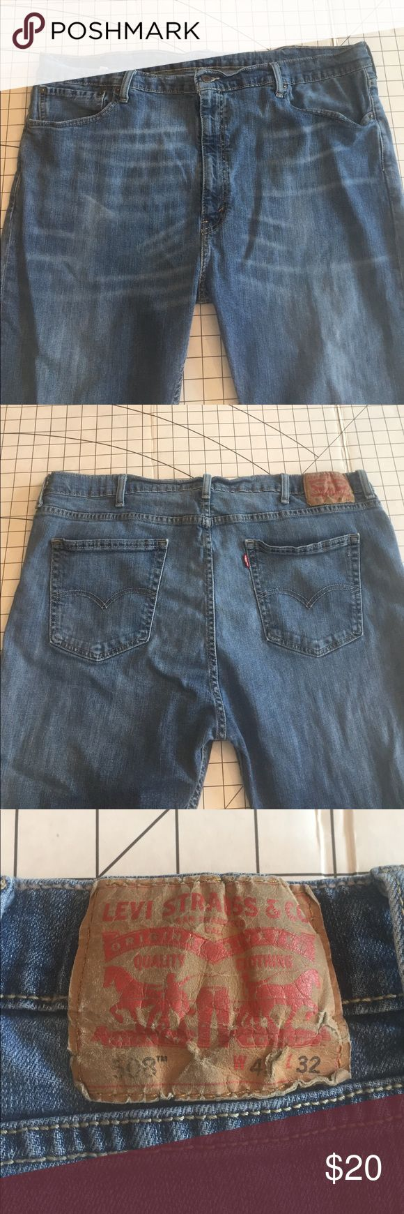 Levi's 508's 42 x 32 High Rise Great pants for making into shorts. Levi's Jeans