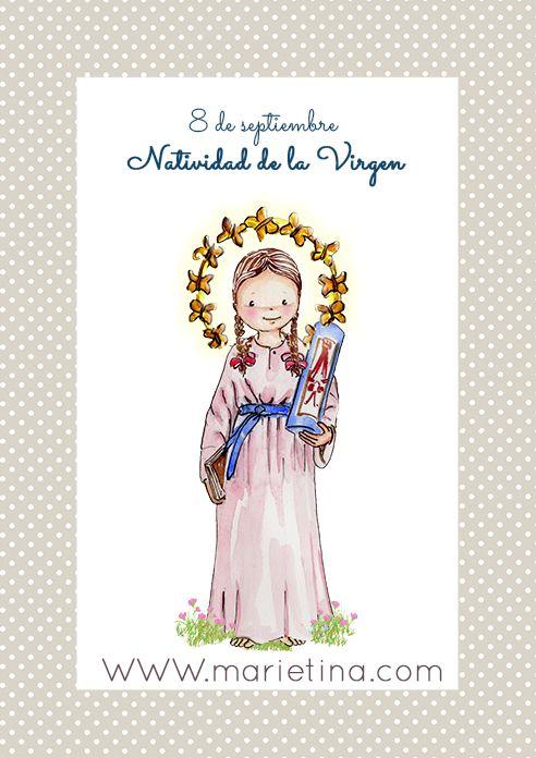 NATIVIDAD DE LA VIRGEN MARIA: otra bella obra de Marietina ...