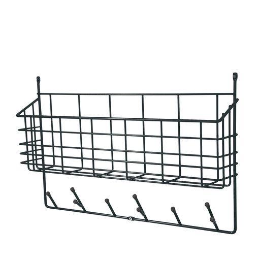 Förvaringskorg Mitten Shelf, svart