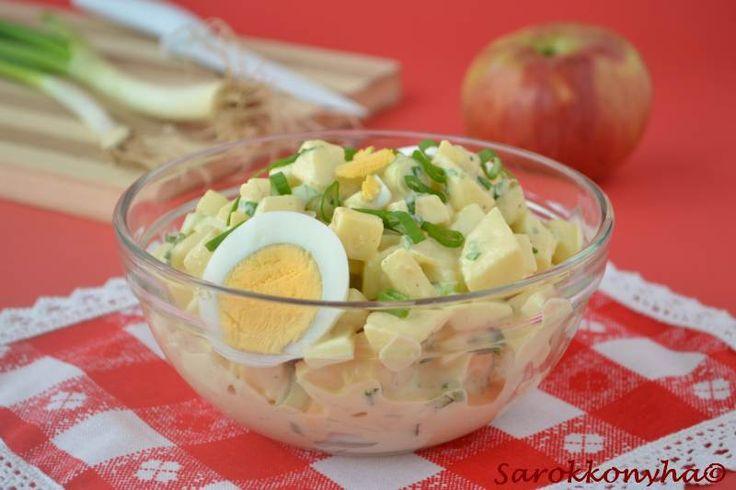 Sarokkonyha: Almás tojássaláta