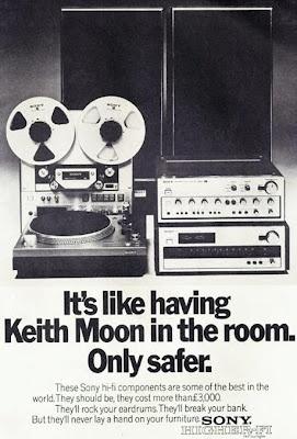 Vintage UK Sony hi-fi ad.