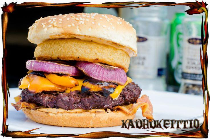 Horse Burger - A bit different Ranch Burger.