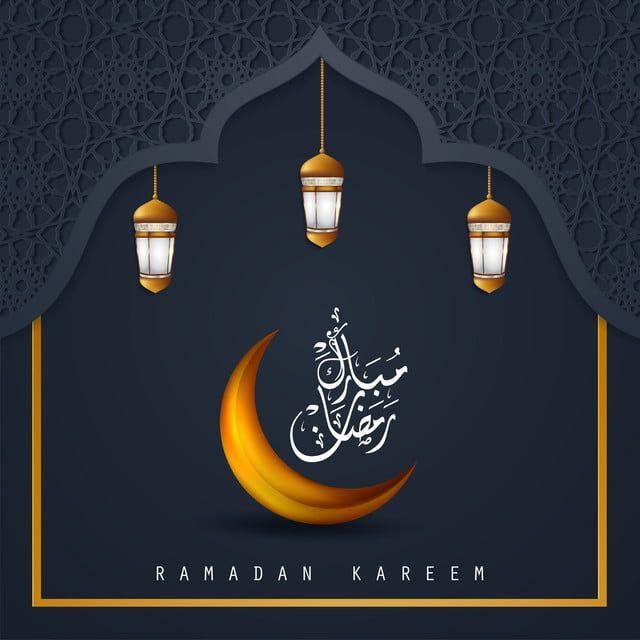 Ramadan Kareem Arabic Islamic Greeting Design With Islamic Cresc Islamic Muslim Lamp Png And Vector With Transparent Background For Free Download Ramadan Kareem Islamic Design Ramadan