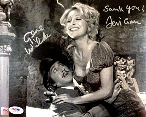 Gene Wilder & Teri Garr Dual Signed Young Frankenstein Knockers Movie Photo PSA Authenticated @ niftywarehouse.com #NiftyWarehouse #Geek #Horror #Creepy #Scary #Movies