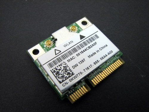 Buy KW770 - Dell True Mobile 1397 802.11 b/g Wireless WiFi Card - Half-Height Mini-PCI Express Card - KW770 USED for 14.99 USD | Reusell