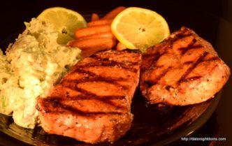Smoked Pork Chops, Maple Pepper Glaze, How to BBQ, Ken Patti BBQ, Pellet smoking, Wood Pellet grill, BBQ, smoker, recipe, Date Night Recipe